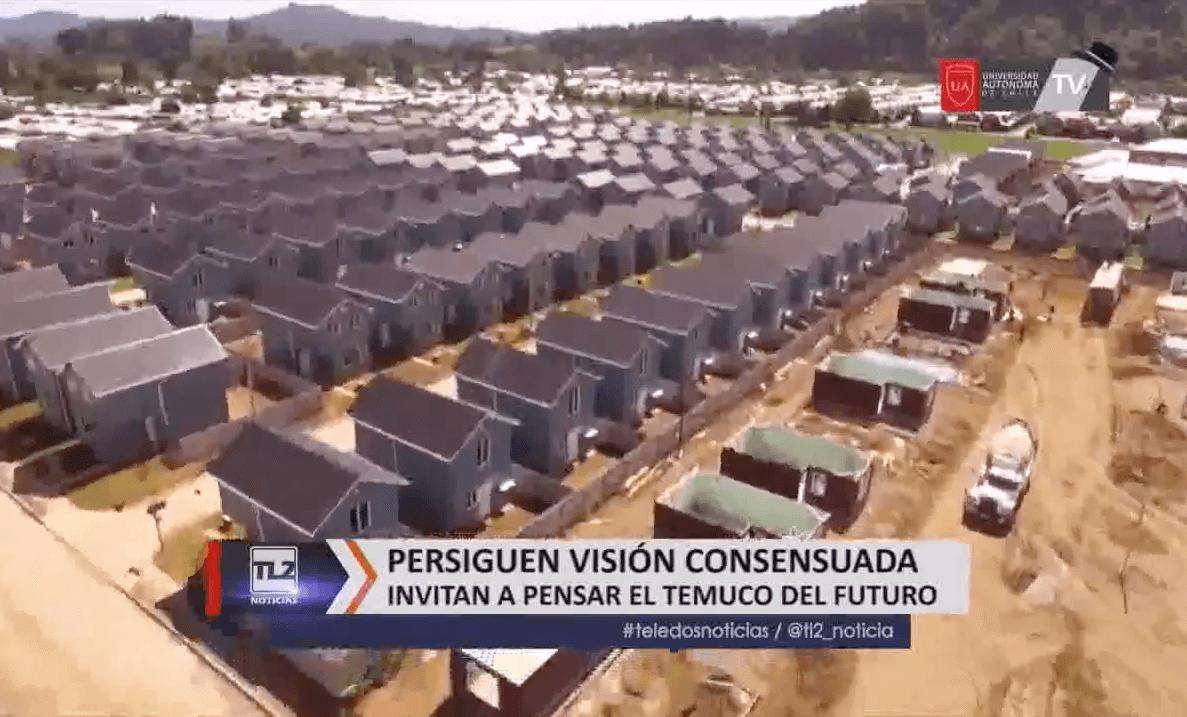 """""""VISIÓN CIUDAD"""": CCHC busca consensuar visión de futuro de la capital de la Araucanía"""