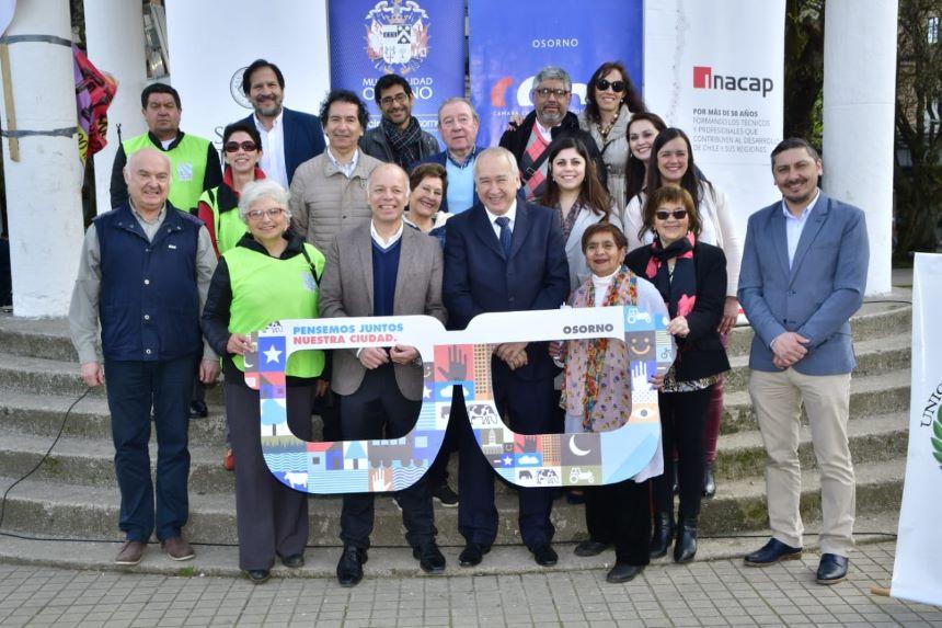 Organizaciones públicas y privadas de Osorno se constituyen como Consejo Urbano  para trazar futuro
