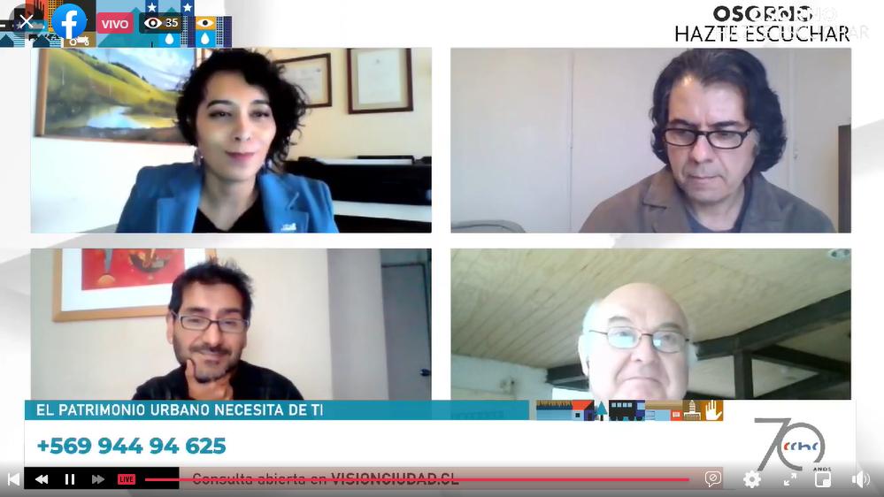 """Exitoso primer encuentro """"Osorno, hazte escuchar"""" para conversar sobre el futuro de la ciudad"""